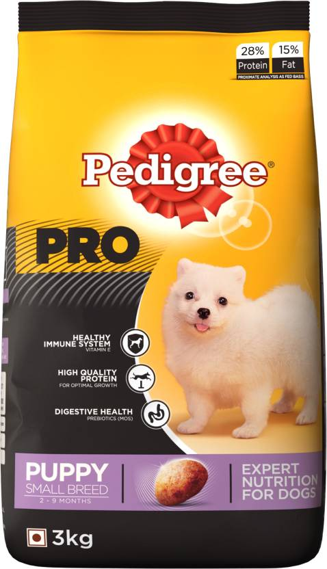 Pedigree Pro Expert Nutrition Small Breed Dry Food (Puppy)