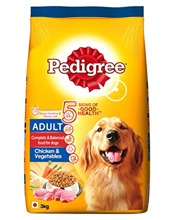 Pedigree Chicken & Vegetables Dog Dry Food (Adult)