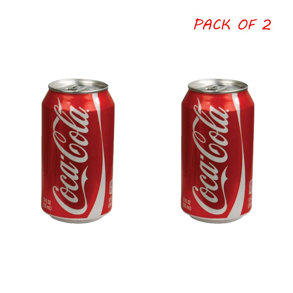Coca-Cola Soft Drink (Can) - Pack of 2