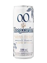 Hoegaarden 0.0 Non Alcoholic Beer (Can) - Pack of 12