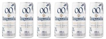 Hoegaarden 0.0 Non Alcoholic Beer (Can) - Pack of 6