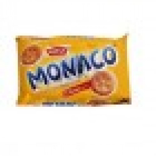 Parle Monaco Light Salty Classic Regular Biscuit - Pack of 2