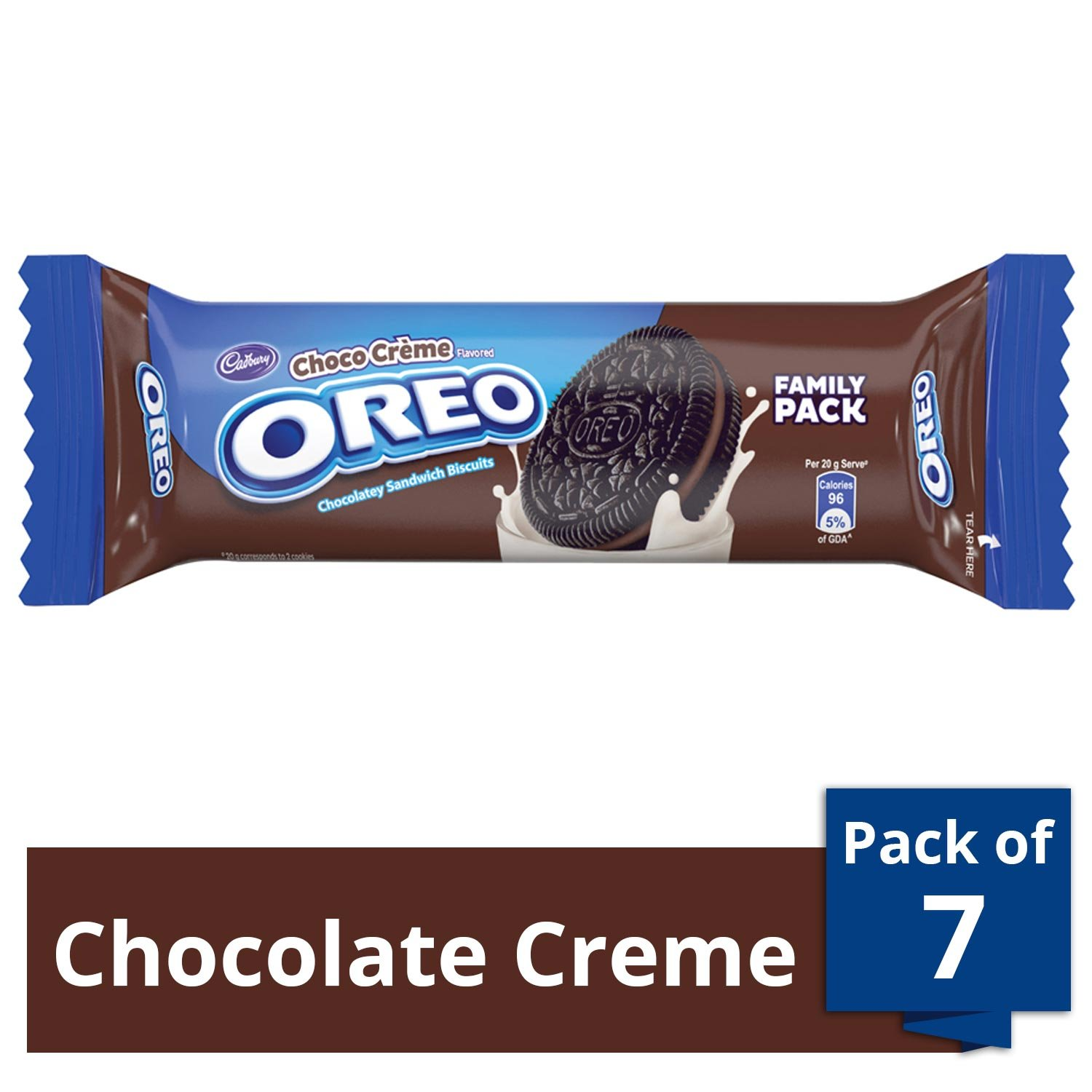 Oreo Choco Creme Biscuit - Pack of 8
