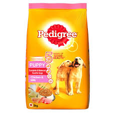 Pedigree Chicken & Milk Dog Dry Food (Puppy)