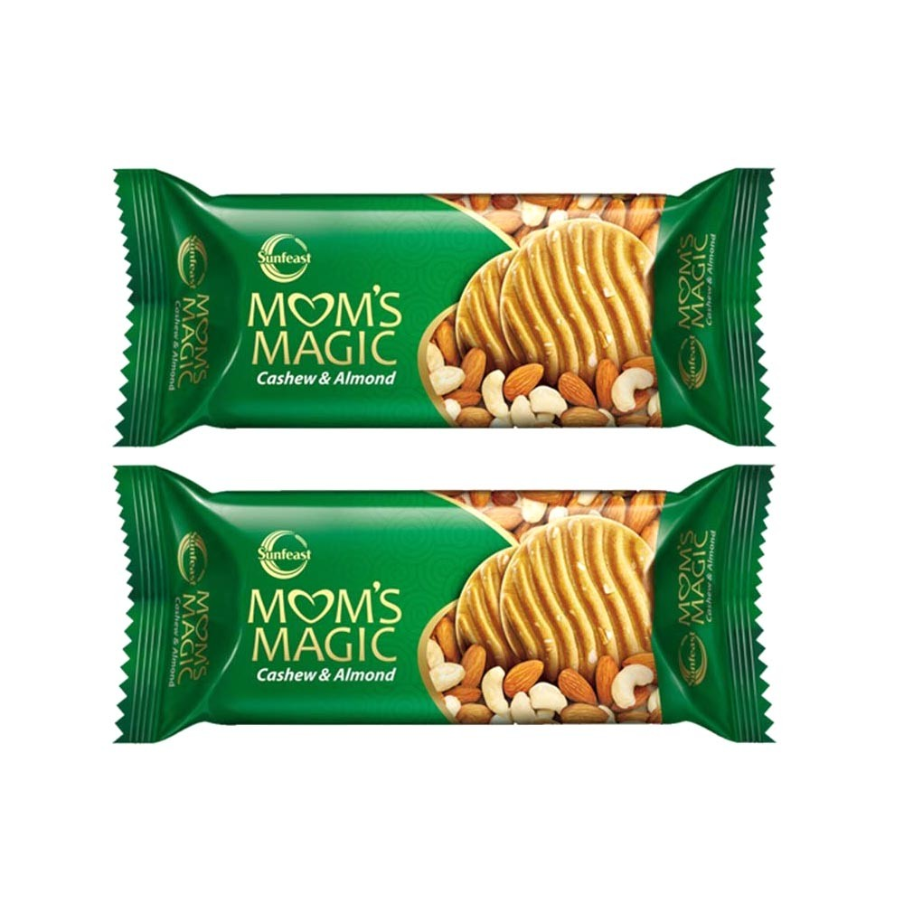 Sunfeast Mom's Magic Cashew & Almond Cookie - Pack of 2